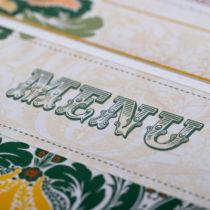 Dottie Tutti Fruiti Lemon Wallet Invitation  E