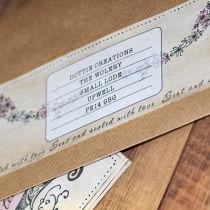 Dottie Vintage Sweethearts Booklet Invitation B