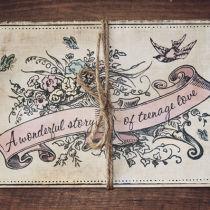 Dottie Vintage Sweethearts Booklet Invitation C