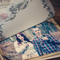 Dottie Vintage Sweethearts Booklet Invitation K