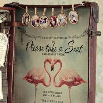 Dottie Vintage Sweethearts Table Seating Plan B