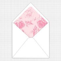 English Rose Envelope Liner