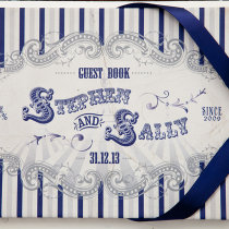FUNFAIR-Guest-Book-Navy-&-Silver