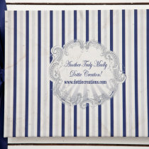 FUNFAIR Guest Book Navy & Silver-3