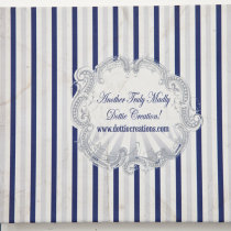 FUNFAIR Guest Book Navy & Silver-4