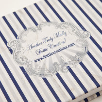 FUNFAIR Guest Book Navy & Silver-5