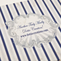 FUNFAIR Guest Book Navy & Silver-6