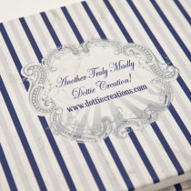 FUNFAIR Guest Book Navy & Silver-7