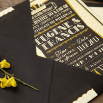 GATSBY1920s Wedding Invitation 11