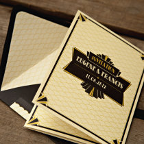 GATSBY 1920s Wedding Invitation 12