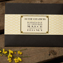 GATSBY 1920s Wedding Invitation 13