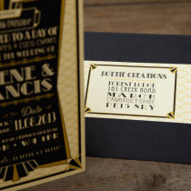 GATSBY 1920s Wedding Invitation 3