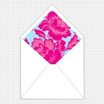 Peony Envelope Lining