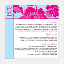 Peony Information Cards