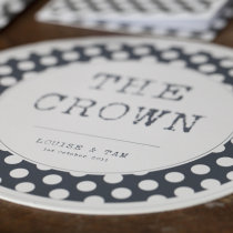 SPOTTY CIRCULAR TABLE NUMBER