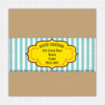 Seaside Envelope Label