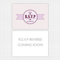 Summer Blossom RSVP Reply Card