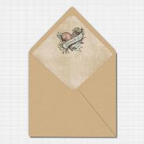 Sweethearts Envelope Liner