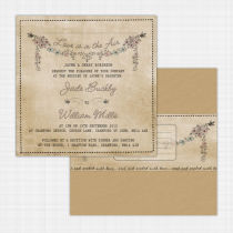 Sweethearts Flat Card Invitation