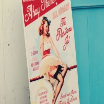 THAT'S AMORE Boat Cruise Pin Up Poster 001