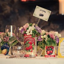 THAT'S AMORE Flag Table Numbers 002