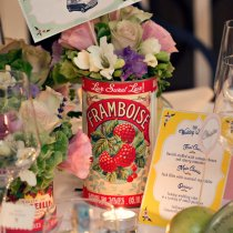THAT'S AMORE Flag Table Numbers 003