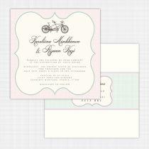 Tandem Flat Card Invitation