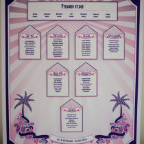 FESTIVAL TABLE SEATING PLAN