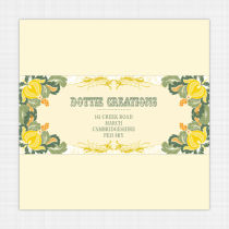 Tutti Frutti Pocket Envelope Label