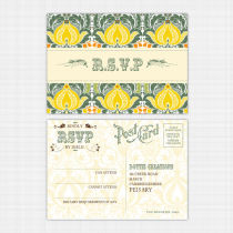 Tutti Frutti RSVP Reply Card