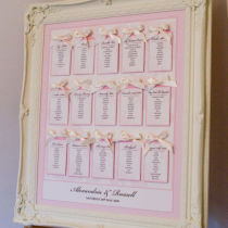 ROSE Table SEATING Plan